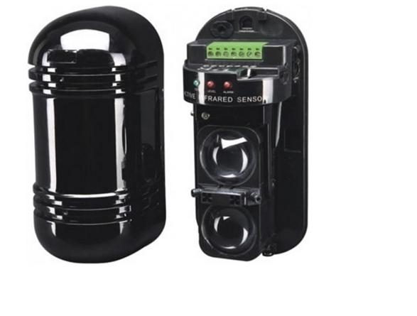 Sensor de Barreira infravermelho ativo IVA duplo Feixe - Luxvision/Penttaxy  - Esferatronic Comercio e Distribuição