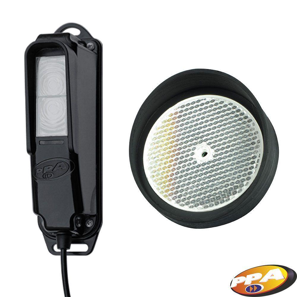 Sensor Fotocelula F10-R Refletiva antiesmagamento PPA