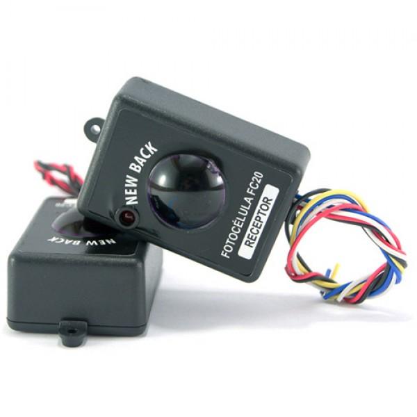 Sensor fotocélula FC 20 Emissor e receptor