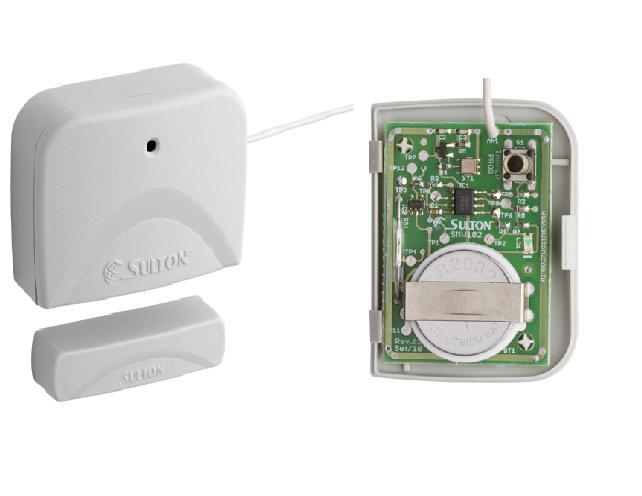 Sensor magnético sem fio digital SMW100 Logo alcance - Sulton  - Esferatronic Comercio e Distribuição