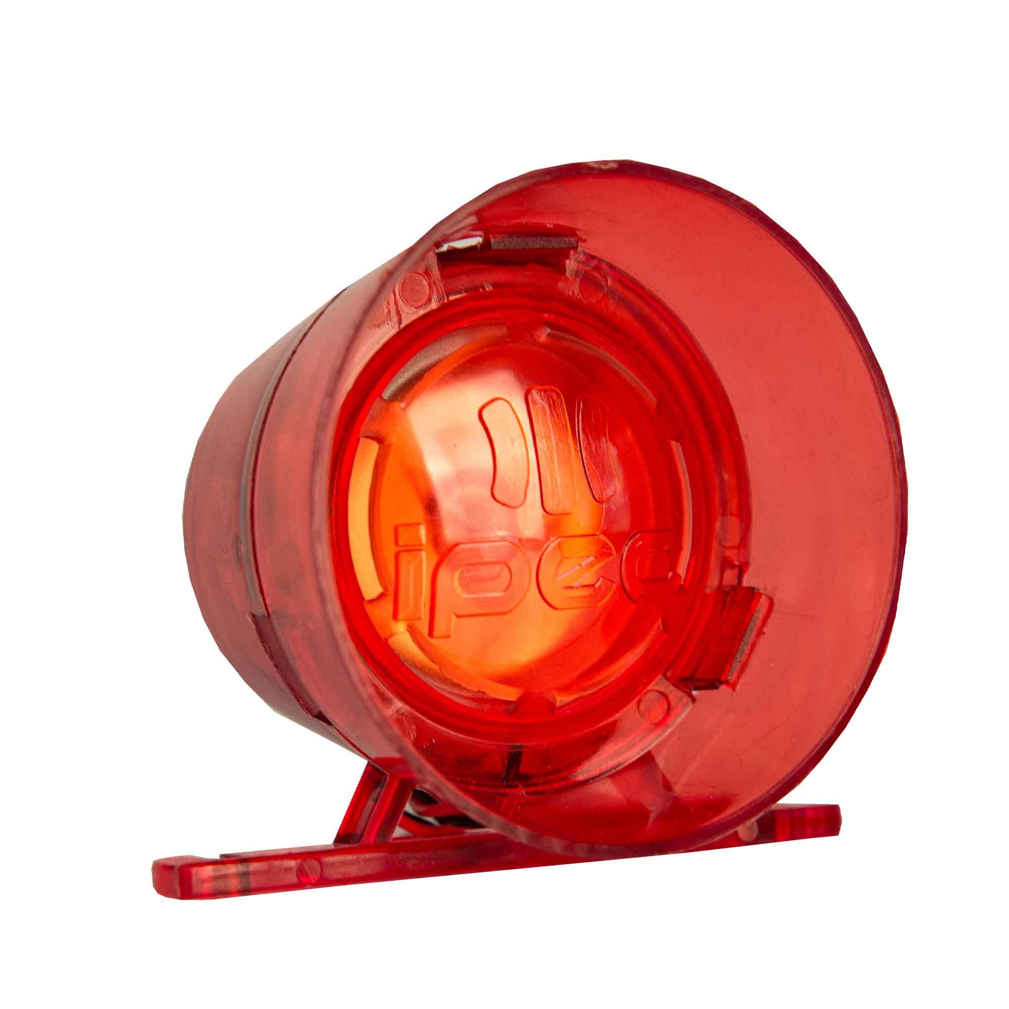 Sirene Alarme Audiovisual 12/24Volts 120 Decibéis Ipec