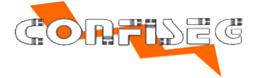 Suporte de ferro médio para câmera de vigilancia - Confiseg  - Esferatronic Comercio e Distribuição