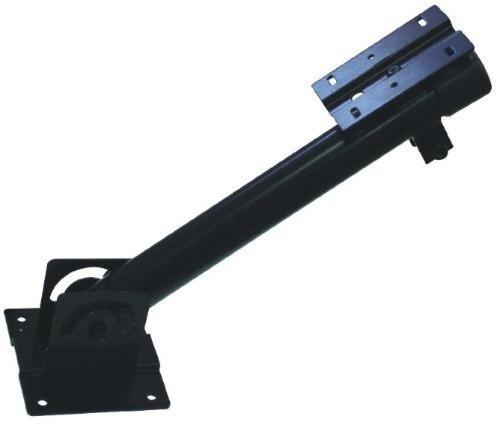Suporte para sensor barreira ativo e câmera de segurança com base articulável
