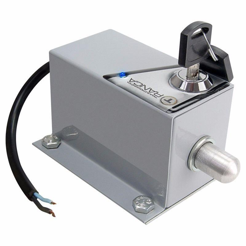 Trava Elétrica Eletromagnética para Motor De Portão Basculante pivo Dz