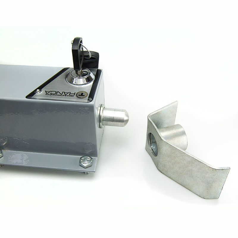 Trava Elétrica Eletromagnética para Motor De Portão Basculante pivo Dz  - Esferatronic Comercio e Distribuição