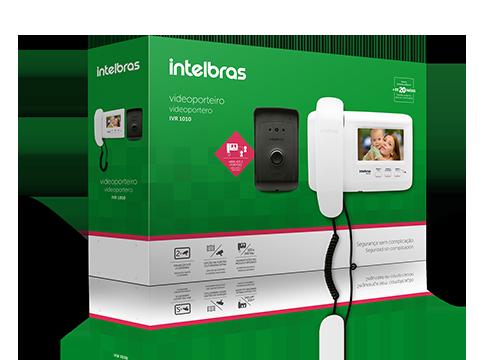 """Vídeo Porteiro Intelbras IVR 1010 Tela LCD 4,3"""" e Visão Noturna"""