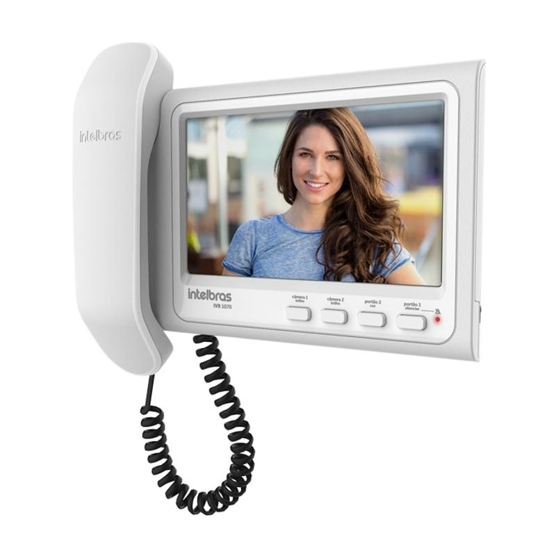 """Video Porteiro Intelbras IVR 1070 HS com Display 7"""""""