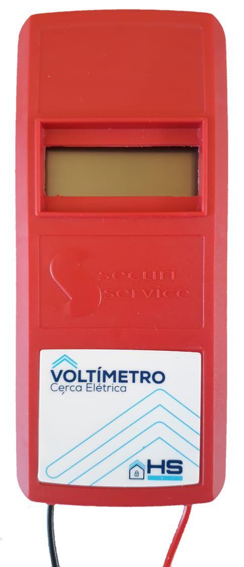Voltimetro Digital Para Cerca Elétrica - Securi Service