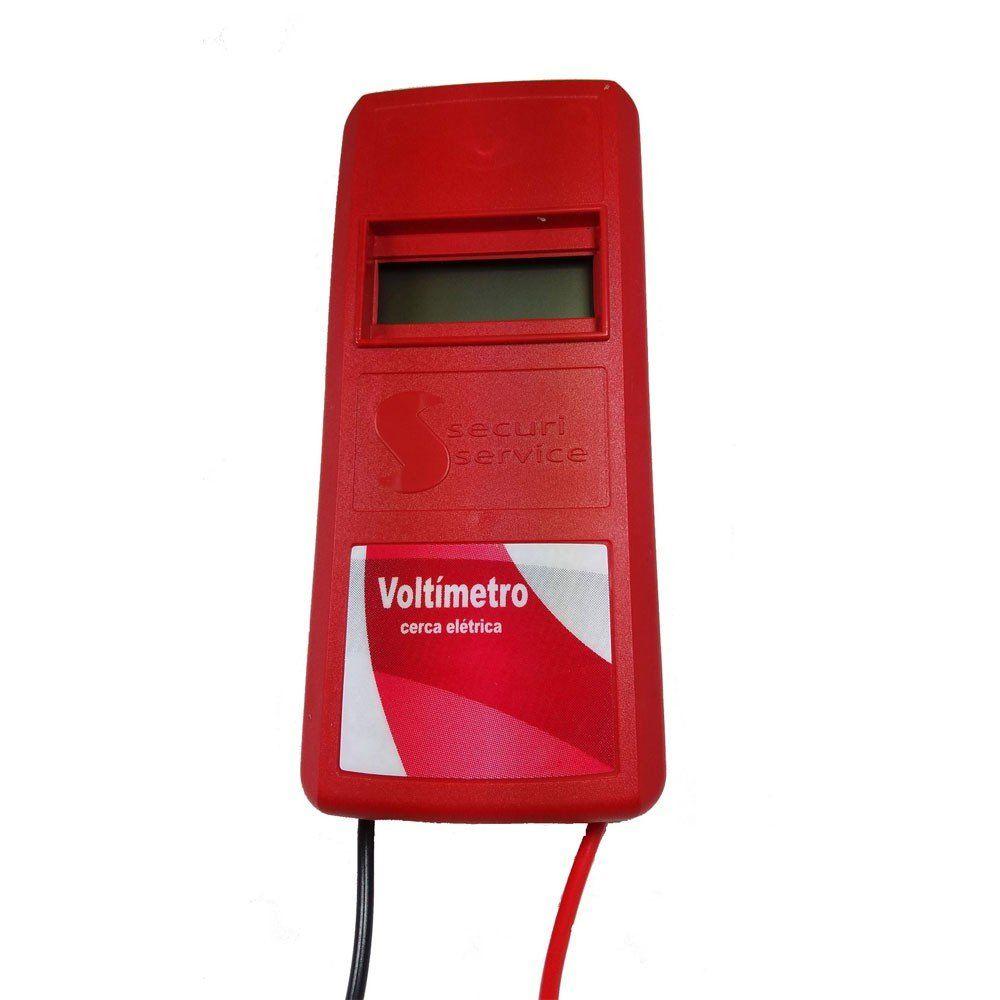 Voltimetro Digital Para Cerca Elétrica - Securi Service  - Esferatronic Comercio e Distribuição