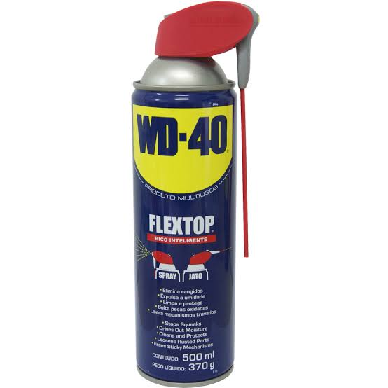 WD40 FlexTop Aerossol 500ML Óleo Desengripante - WD-40
