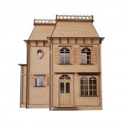 Casa De Bonecas em Mdf Para Polly, Barbie Pocket e Similares Modelo C12