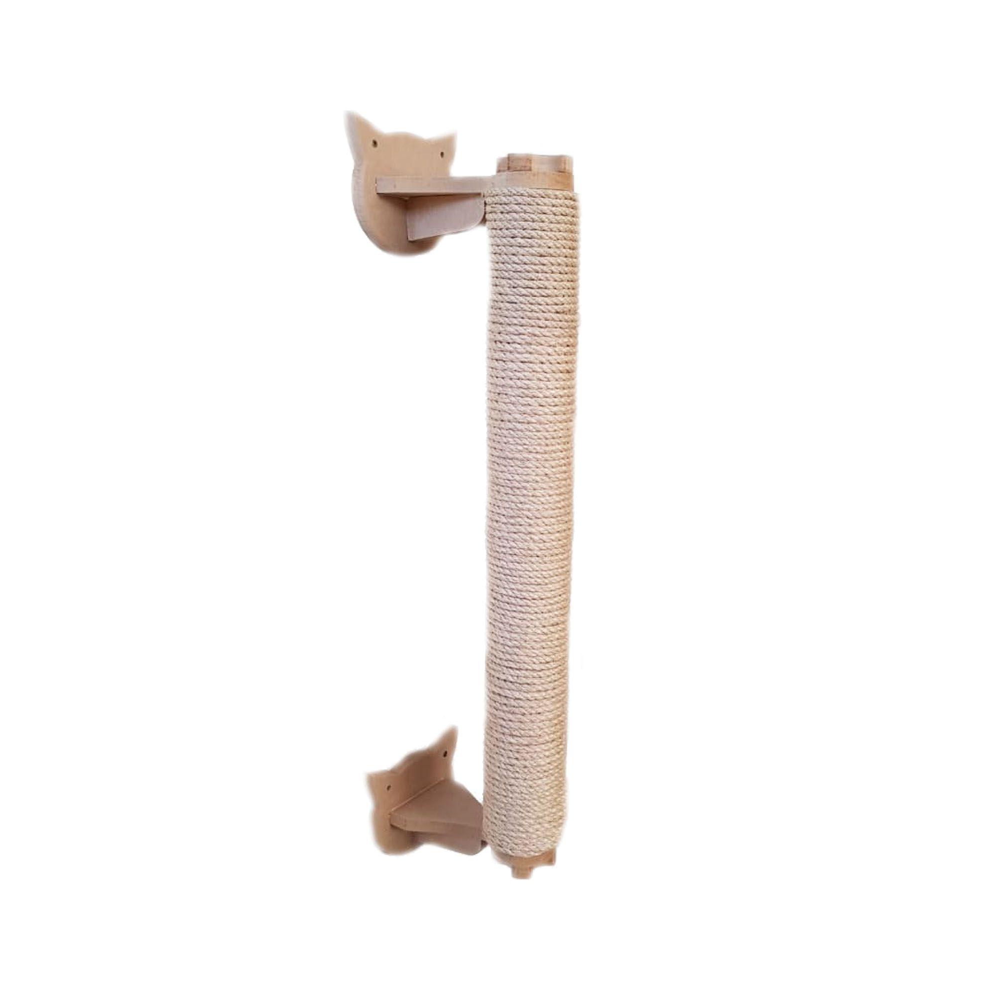Arranhador Gato - Arranhador De Parede Vertical  - Produto com Sisal para Gato em Mdf 15mm
