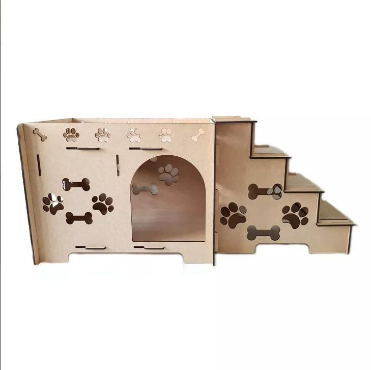 Cama Cachorro - Cama Beliche para Cachorro e Gato em Mdf 6mm - Caminha Pet Dog