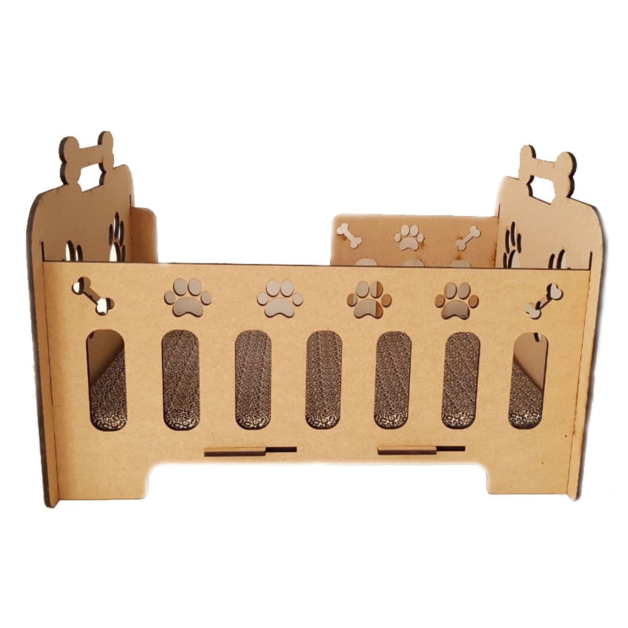 Cama Cachorro - Cama Para Cachorro e Gato Em Mdf 6mm - Caminha Pet Dog