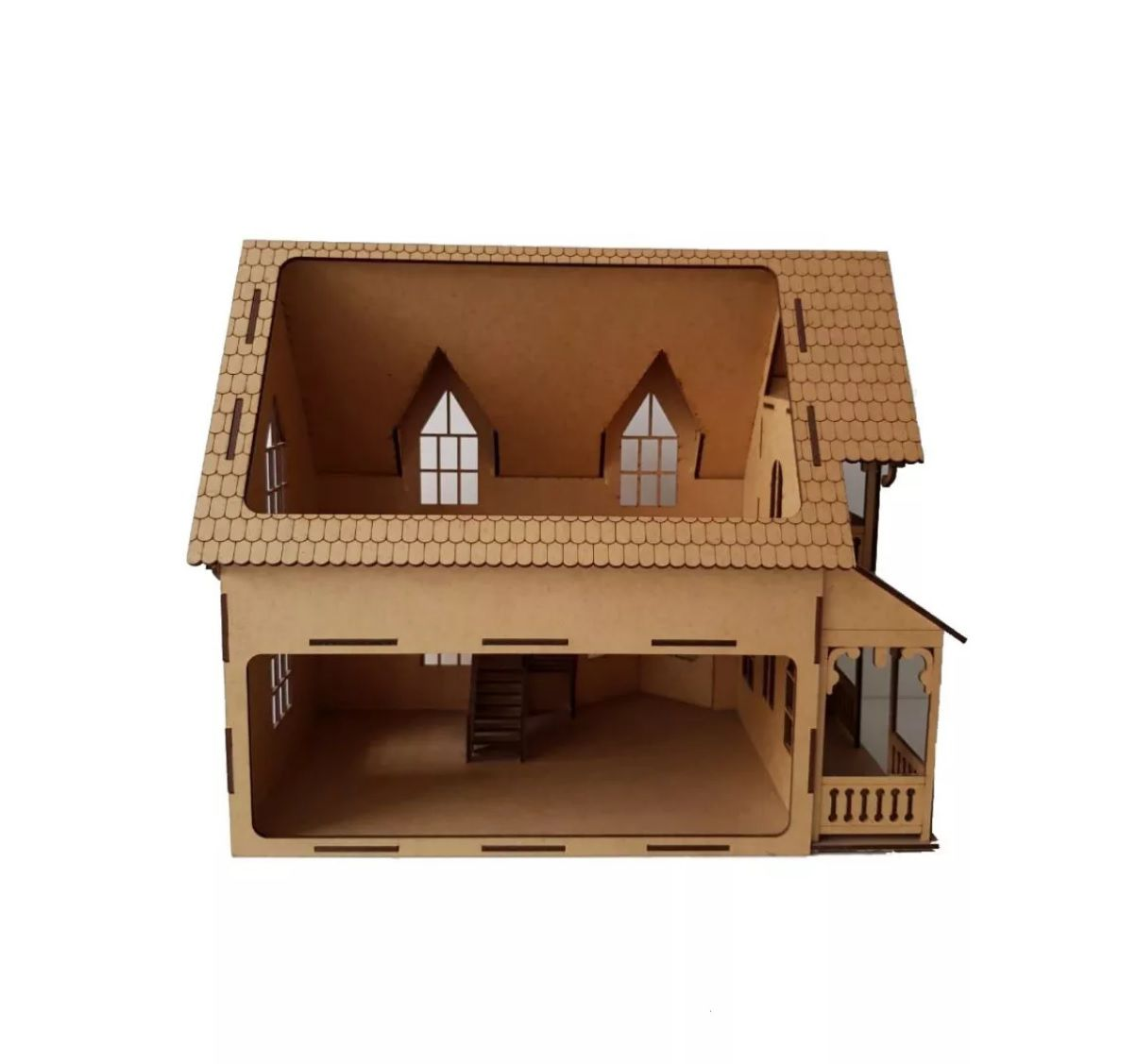 Casa Bonecas Modelo C11 para Polly, Barbie Pocket  e Similares