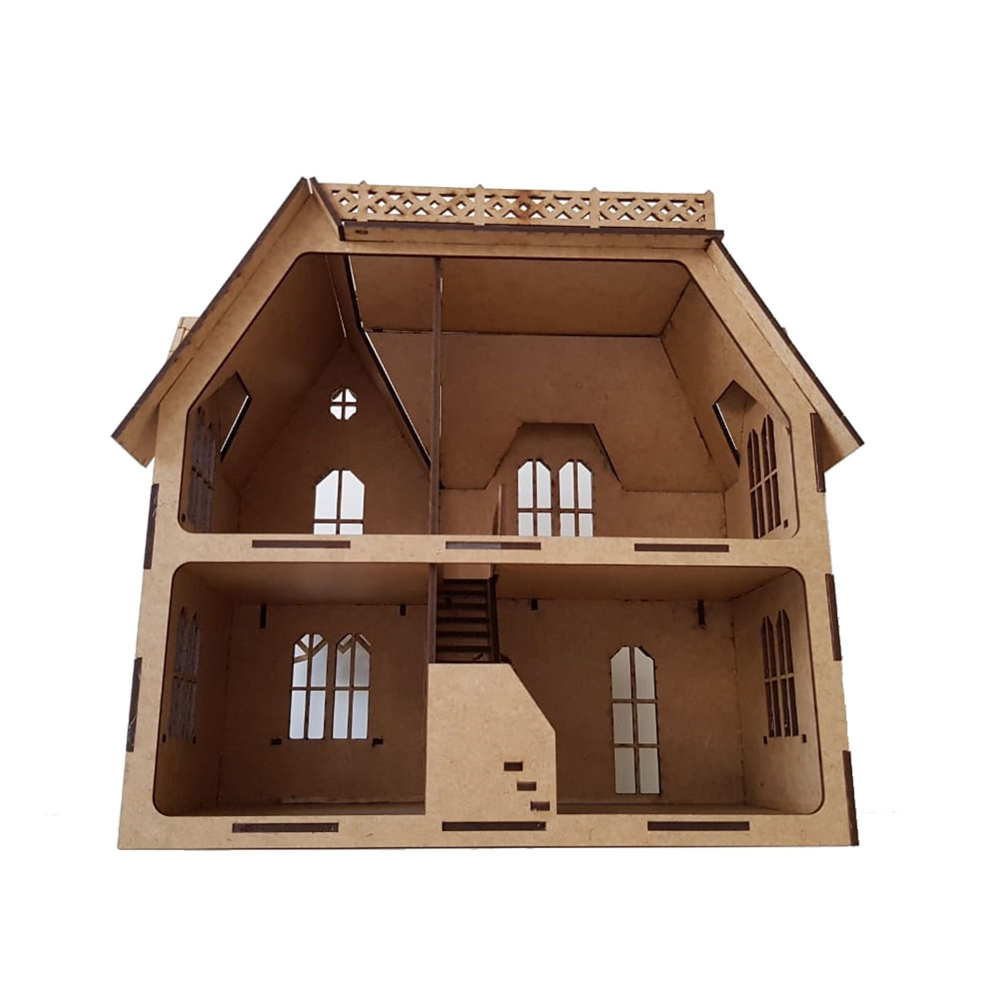 Casa De Bonecas Modelo C15 Para Polly, Barbie Pocket e Similares