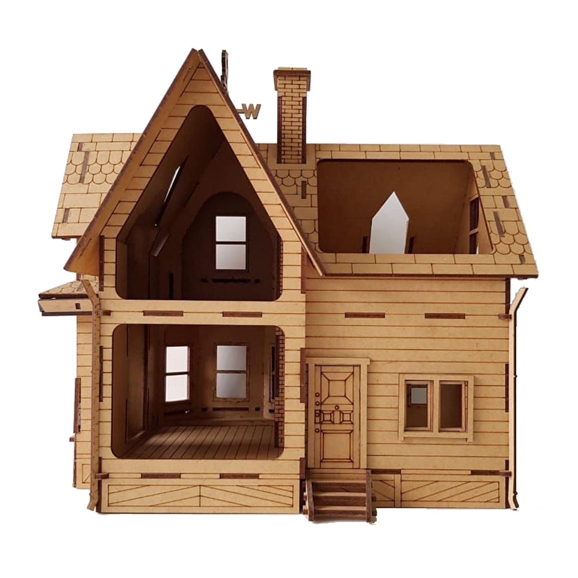 Casa Up Altas Aventuras Em Mdf Ótima Diversão Para Seus Filhos