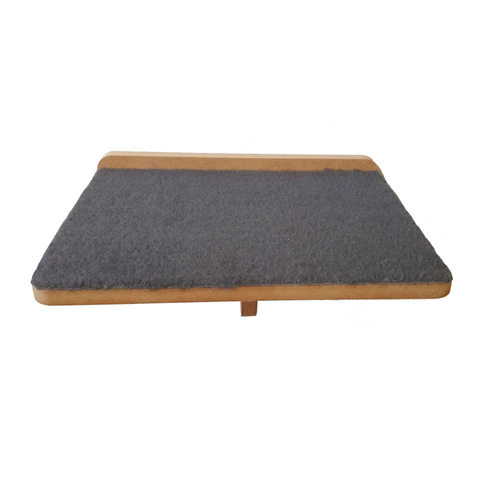 Prateleira Arranhador em Carpete - Gato Pet Mdf 15mm