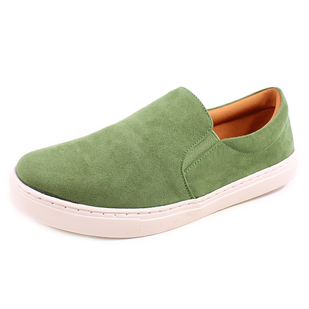 Slip On Duchi Camurça Verde