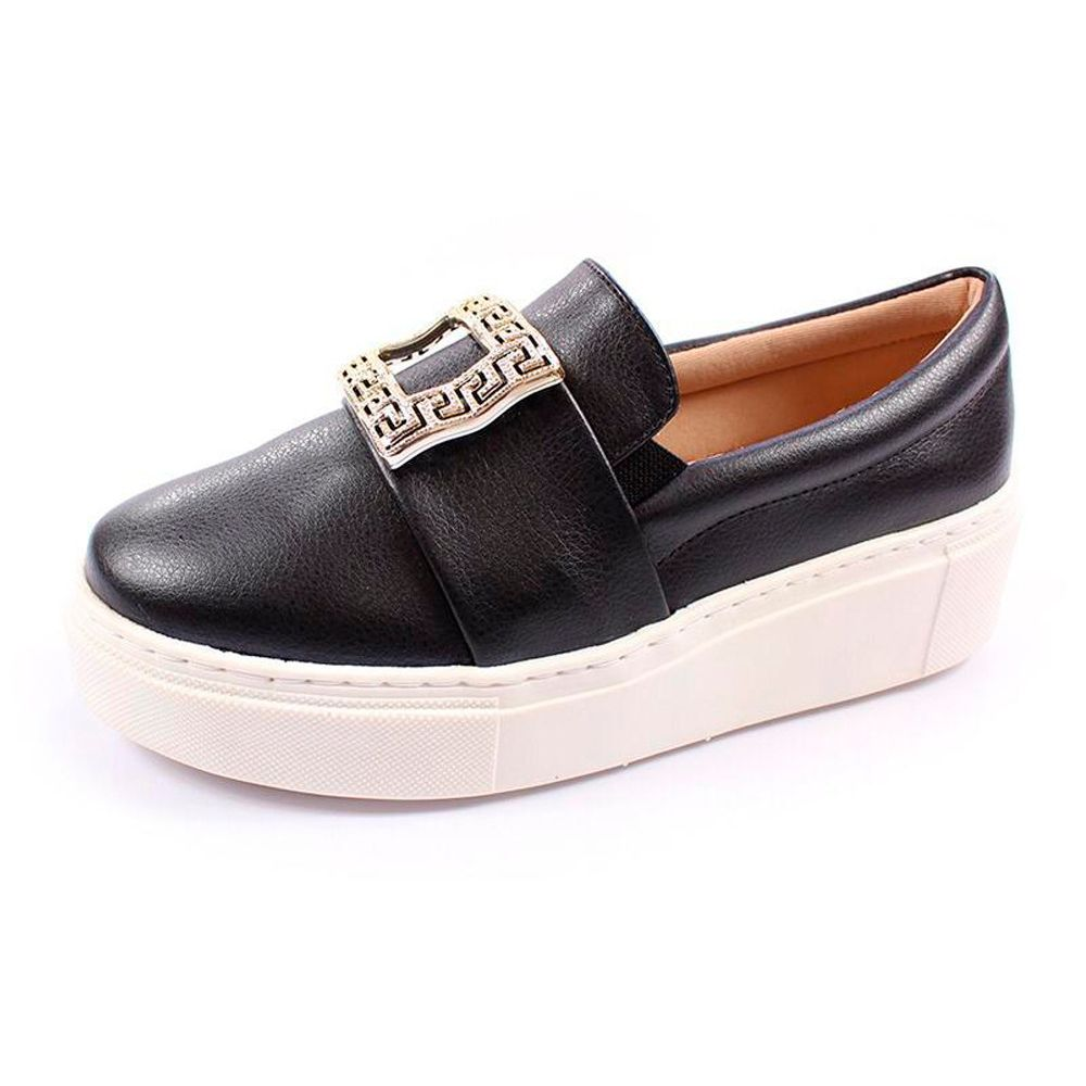 SLIP ON ENFEITE DUCHI FLOATER PRETO
