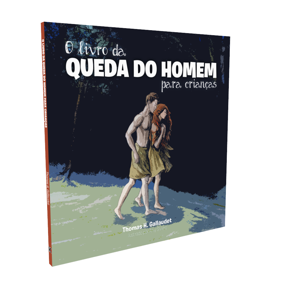 O Livro da Queda do Homem para Crianças (COLORIDO)