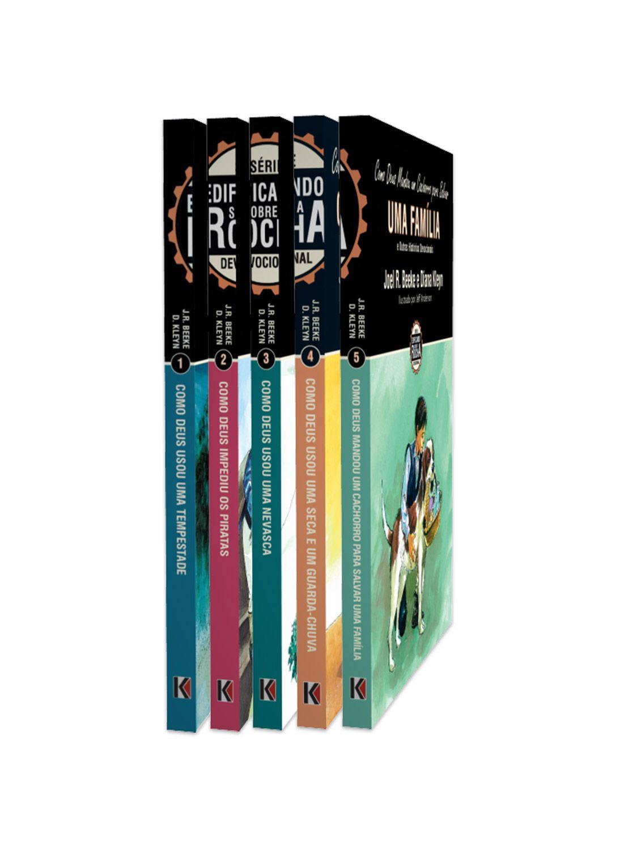 Série Completa Edificando sobre a Rocha - 5 Livros