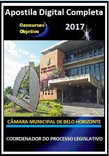 Apostila Câmara de Belo Horizonte 2017 - COORDENADOR DO PROCESSO LEGISLATIVO