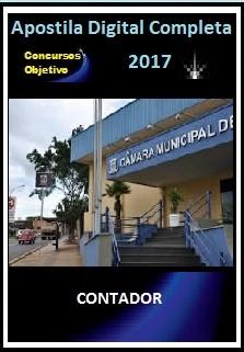 Apostila Câmara de Campo Grande MS 2017 - CONTADOR