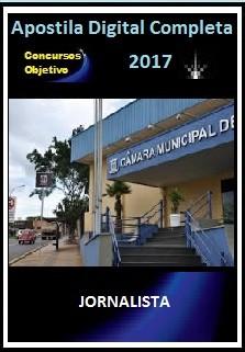 Apostila Câmara de Campo Grande MS 2017 - JORNALISTA