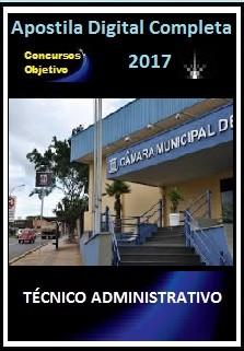 Apostila Câmara de Campo Grande MS 2017 - TÉCNICO ADMINISTRATIVO