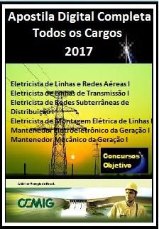 Apostila CEMIG MG 2017 - TODOS OS CARGOS (nível Médio)