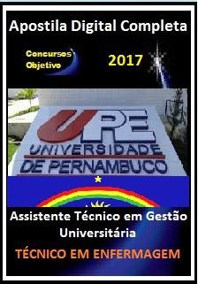 Apostila Concurso UPE 2017 - Assistente Téc em Gestão Universitária - TÉCNICO EM ENFERMAGEM