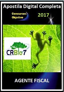 Apostila Conselho Regional de Biologia (CRBio) da 7ª Região 2017 - AGENTE FISCAL