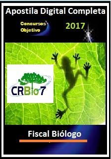 Apostila Conselho Regional de Biologia (CRBio) da 7ª Região 2017 - FISCAL BIÓLOGO