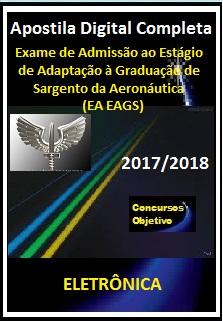 Apostila (EA EAGS) AERONÁUTICA 2017/2018 - ELETRÔNICA