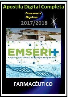 Apostila EMSERH MA 2017 - FARMACÊUTICO