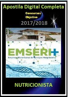 Apostila EMSERH MA 2017 - NUTRICIONISTA