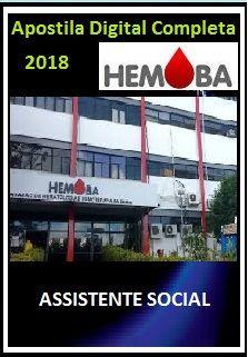 Apostila HEMOBA BA 2018 - Assistente Social
