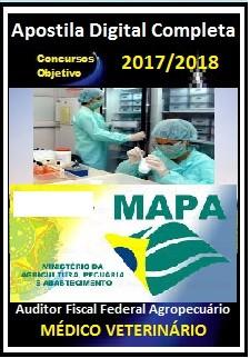 Apostila MAPA 2017 - AUDITOR FISCAL FEDERAL AGROPECUÁRIO - MÉDICO VETERINÁRIO