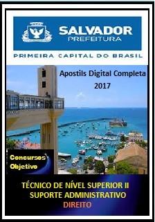 Apostila Prefeitura de Salvador BA 2017 - DIREITO