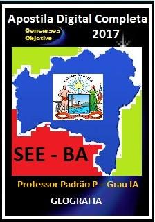 Apostila SEE BA 2017 - GEOGRAFIA