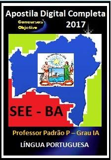Apostila SEE BA 2017 - Língua Portuguesa