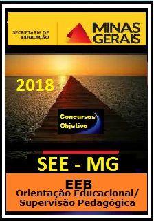 Apostila SEE MG 2018 -  EEB - Orientação Educacional/Supervisão Pedagógica