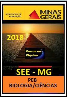 Apostila SEE MG 2018 - (PEB) BIOLOGIA/CIÊNCIAS