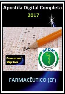 Apostila SPDM RJ 2017 - FARMACÊUTICO (EF)