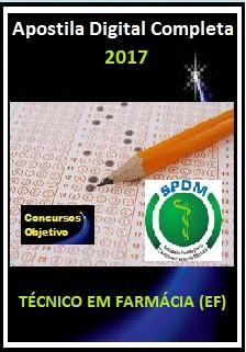 Apostila SPDM RJ 2017 - TÉCNICO EM FARMÁCIA (EF)