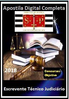 Apostila TJ SP 2018 - Escrevente Técnico Judiciário