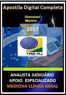 Apostila TRE RJ 2017 - ANALISTA JUDICIÁRIO - APOIO ESPECIALIZADO –  MEDICINA CLÍNICA GERAL