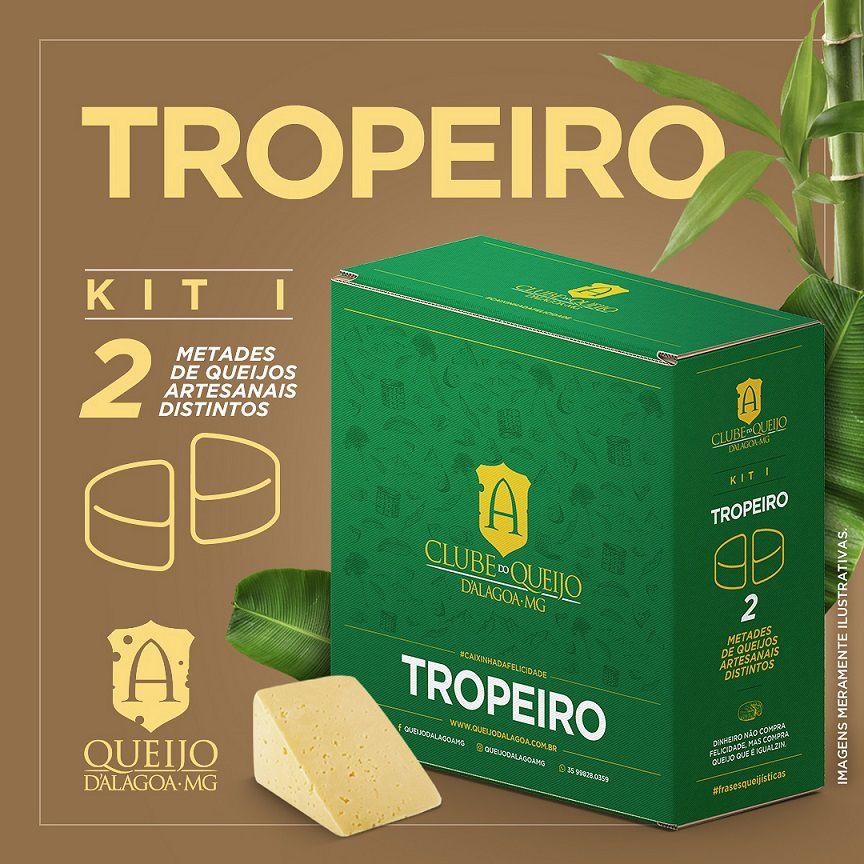 Assinatura - Clube do Queijo d'Alagoa-MG | Kit de Degustação I  : Tropeiro