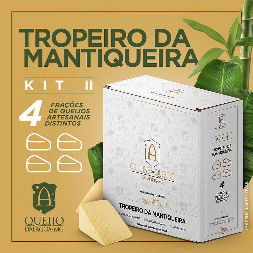 Assinatura - Tropeiro da Mantiqueira | Kit de Degustação II - Clube Queijo D'Alagoa-MG